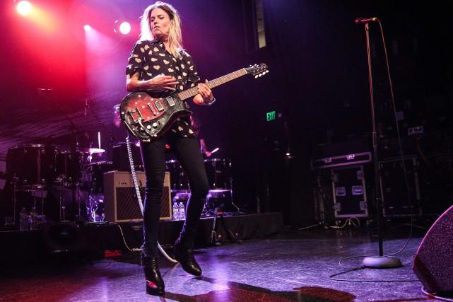 Alison Mosshart et son groupe The Kills prendront... (PHOTO ARCHIVES AP)