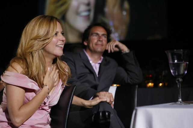 Julie Snyder et Pierre Karl Péladeau sont actuellement... (PHOTO D'ARCHIVES FOURNIE PAR LES PRODUCTIONS J)