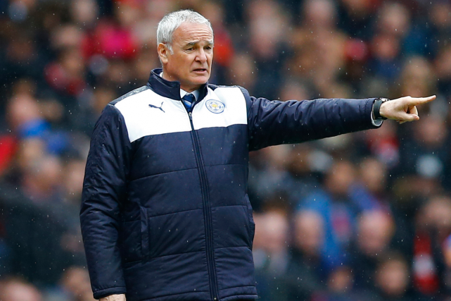L'entraîneur de Leicester, Claudio Ranieri.... (Photo Darren Staples, Reuters)