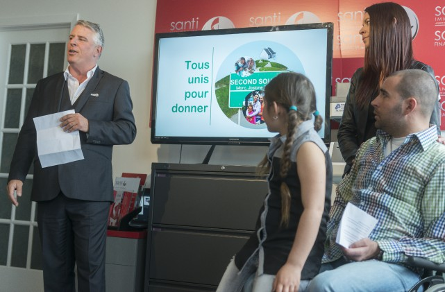 Marc Bougie, président et fondateur du groupe SantiConstruction,... (Spectre Média, Marie-Lou Béland)