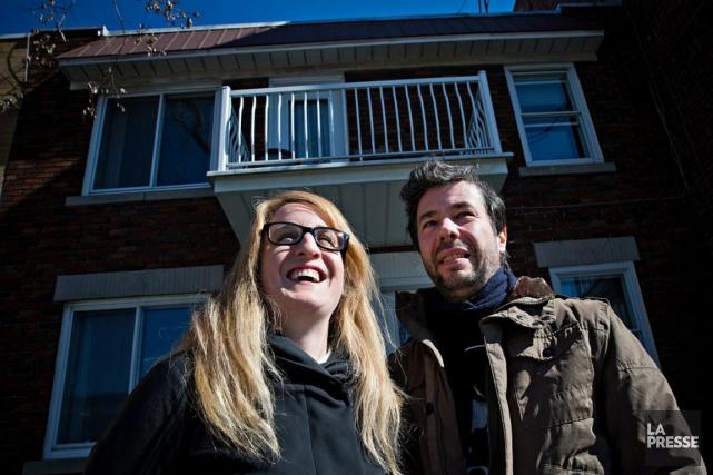Jacinthe Riopel et Marc-André Beaudoin ont choisi de... (PHOTO PATRICK SANFAÇON, LA PRESSE)