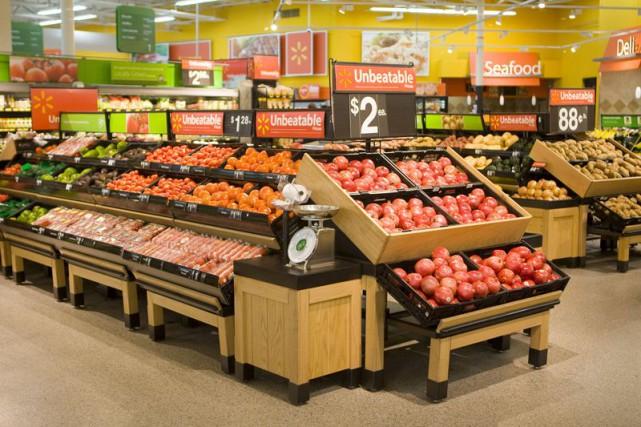 Les Supercentres de WalmartCanada proposent sous un même... (Photo fournie par Walmart)