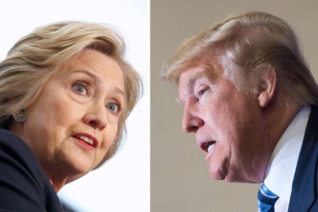 Clinton ou Trump à la présidence? La campagne... (AFP)