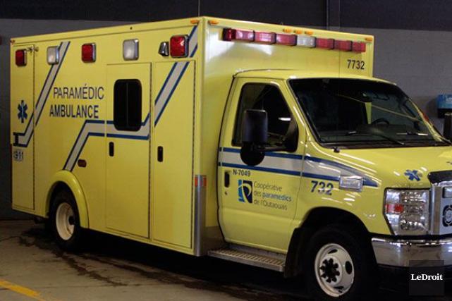 Un motocycliste a été blessé lorsqu'une automobiliste a... (ETIENNE RANGER, Archives LeDroit)
