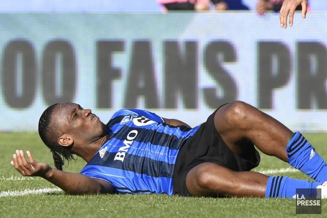 Didier Drogba (photo) a été victime d'un contact... (Archives La Presse)
