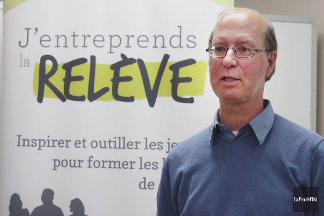 Yves Lauzière, directeur général du Carrefour Jeunesse-Emploi des... (Archives La Voix de l'Est)
