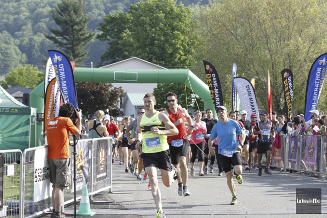 Plus de 2000 coureurs sont attendus au 3e... (Julie Catudal, archives La Voix de l'Est)