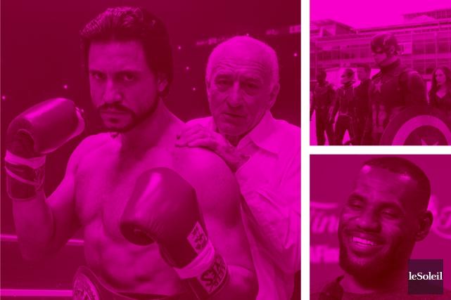 De Niro à Cannes pour une projection spéciale (Infographie Le Soleil)