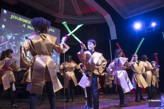 Journée Star Wars à l'école Val Marie (Stéphane Lessard, Le Nouvelliste)