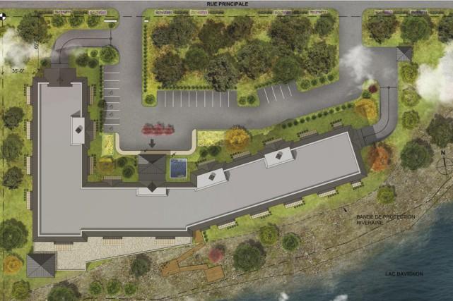 Les promoteurs d'un édifice de 150 logements sur... (Illustration fournie par Pur Immobilia)
