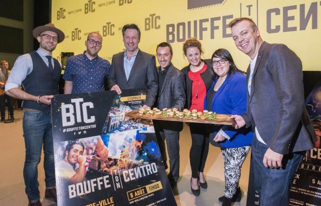Le dévoilement de la programmation 2016 de Bouffe... (Spectre Média, Jessica Garneau)