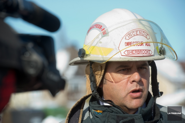 Stéphane Simoneau, coordonnateur des services d'urgence à Sherbrooke... (Archives La Tribune)