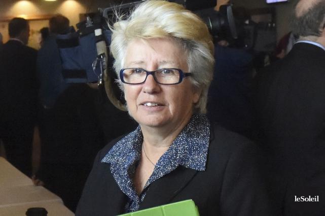 Mardi soir, la députée péquiste Agnès Maltais a... (Photothèque Le Soleil)
