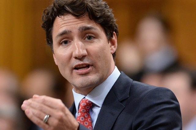 Justin Trudeau, le premier ministre du Canada... (Sean Kilpatrick, Archives PC)