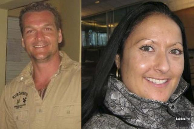 Martin Bélair et Nancy Beaulieu ont été assassinés... (Archives La Voix de l'Est)