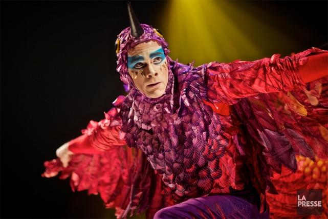 Luzia, spectacle inspiré par la culture mexicaine, regorge... (PHOTO ANDRÉ PICHETTE, LA PRESSE)