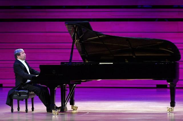 À 70 ans,Murray Perahia estl'un des pianistes les... (PHOTO BERNARD BRAULT, LA PRESSE)