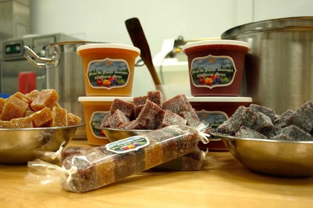 Des produits de la Lower North Shore Bioproducts... (Photo tirée de Facebook)
