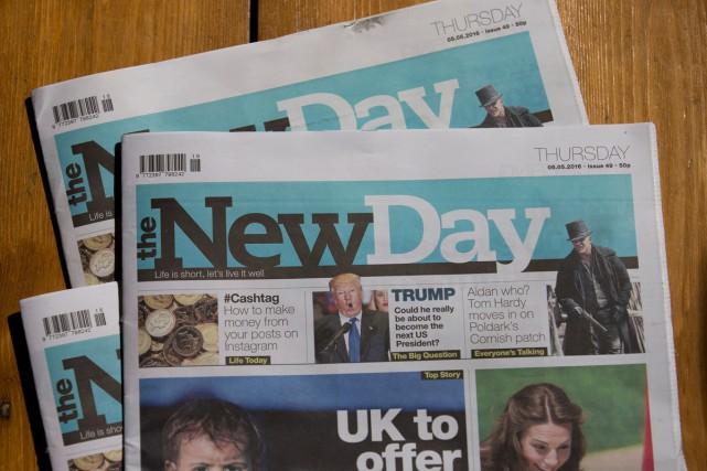 La publication du premier nouveau quotidien généraliste en trente ans au... (PHOTO ARCHIVES AFP)