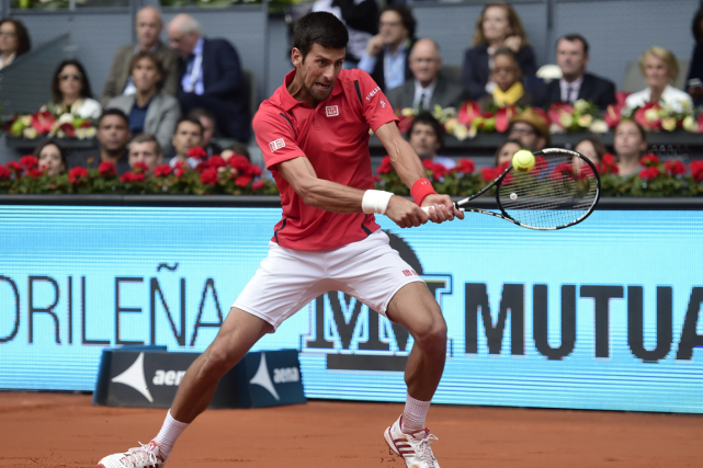 Novak Djokovic... (Photo Javier Soriano, AFP)