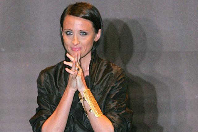 Âgée de 43 ans, Alessandra Facchinetti était arrivée... (PHOTO REUTERS)