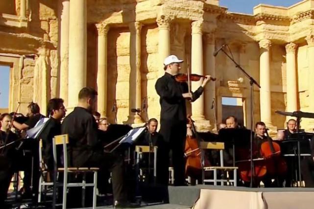 Interprété par l'orchestre symphonique du théâtre Mariinski de... (PHOTO THE TELEGRAPH)