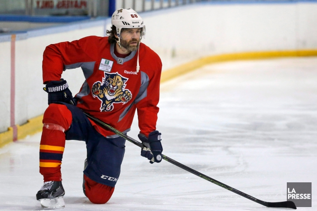 Jaromir Jagr... (Photo Wilfredo Lee, AP)