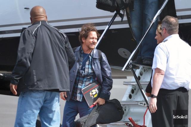 Le leader de Pearl Jam, Eddie Vedder... (Le Soleil, Jean-Marie Villeneuve)
