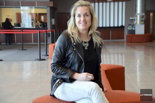 La nouvelle directrice de la Maison des arts... (La Tribune, Yanick Poisson)