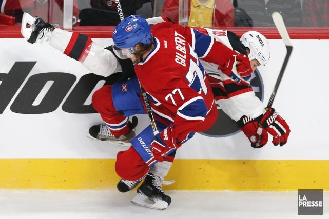 Il est bien connu au hockey, jeu d'adresses individuelles et d'équipe, qu'il... (Archives, La Presse)