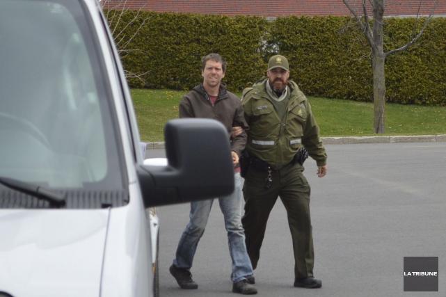 Marco Beausoleil a été formellement accusé de vol... (La Tribune, Yanick Poisson)