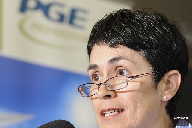 Nicole Bergeron, directrice générale de Pro-Gestion Estrie... (Archives La Tribune)