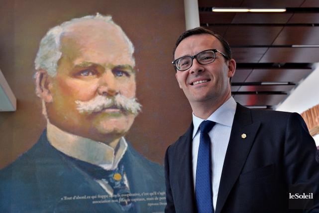 Le nouveau président et chef de la direction... (Le Soleil, Patrice Laroche)