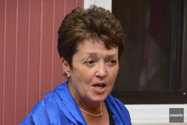 L'ancienne candidate à la mairie de Farnham Micheline... (Archives La Voix de l'Est)