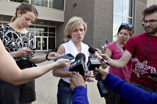 La première ministre de l'Alberta, Rachel Notley.... (PHOTO JASON FRANSON, LA PRESSE CANADIENNE)