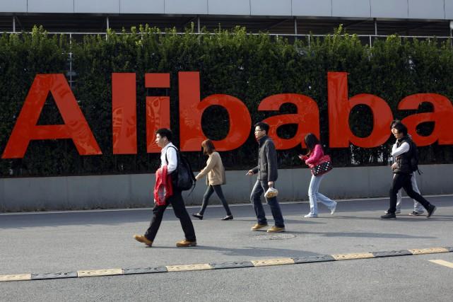 Alibaba mène actuellement une bataille contre Tencent, autre... (AP)