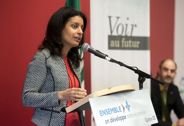 La ministre de l'Économie, de la Science et... (Spectre Média, Jessica Garneau)