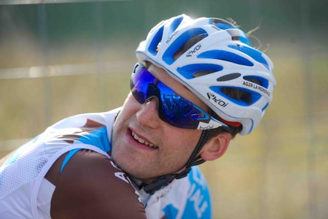 Hugo Houle souhaite bien paraître afin d'impressionner Cyclisme... (Fournie par AG2R La Mondiale, Yves Perret)