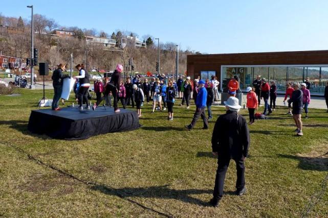 L'an dernier, la Marche Albatros avait permis de... (Fournie par Albatros Québec)
