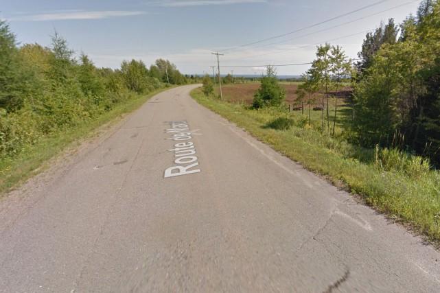 Évaluée comme étant la pire route du Québec,... (Google Street View)