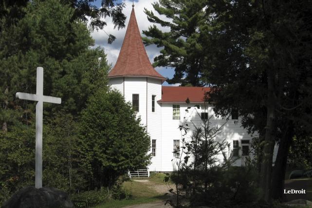 L'ancien domaine des pères Sainte-Croix, à Lac-Simon... (Archives LeDroit)