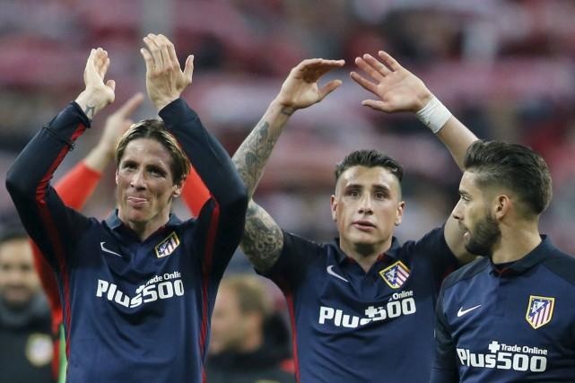 Un titre en Ligue des Champions aiderait l'Atletico... (Archives AP)