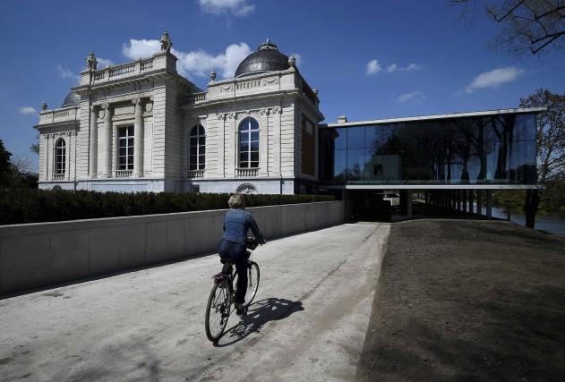 Le musée La Boverie, à Liège, en Belgique... (AFP, John Thys)