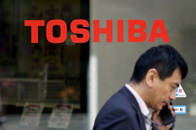 Le conglomérat industriel japonais Toshiba a annoncé vendredi, à l'issue d'un... (PHOTO TORU HANAI, ARCHIVES REUTERS)