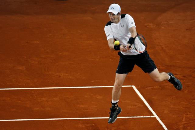 Andy Murray a accédé au carré d'as d'un... (Photo Andrea Comas, Reuters)