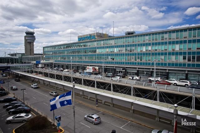 Aéroports de Montréal (ADM) a fait état jeudi d'un excédent de 35,8 millions $... (Photo André Pichette, Archives La Presse)
