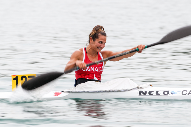 Émilie Fournel... (Photo Balint Vekassy, fournie par Canoë-Kayak Canada)