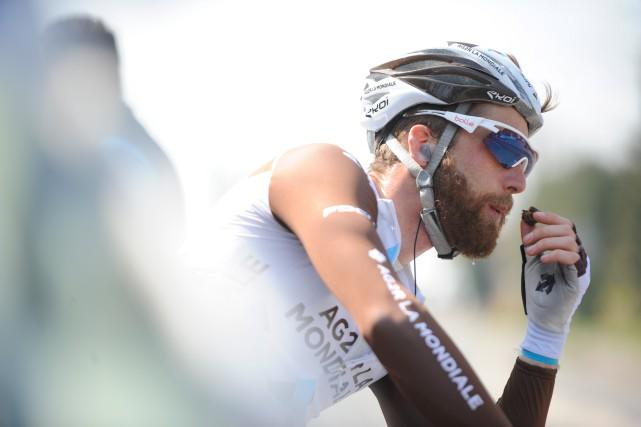 Le cycliste québécois Hugo Houle sera au départ... (photoYves Perret, fournie parAG2R LA MONDIALE)