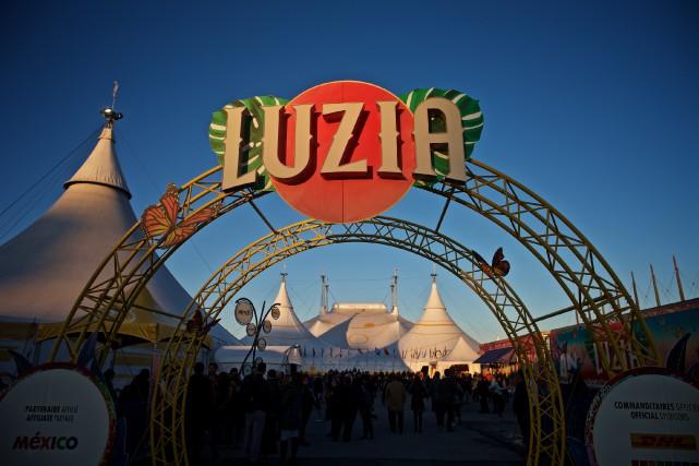 Le dernier spectacle du Cirque du Soleil, Luzia,... (Photo André Pichette, Archives La Presse)