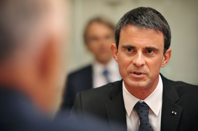 Le premier ministre français Manuel Valls... (PHOTO MARK GRAHAM, ARCHIVES AFP)